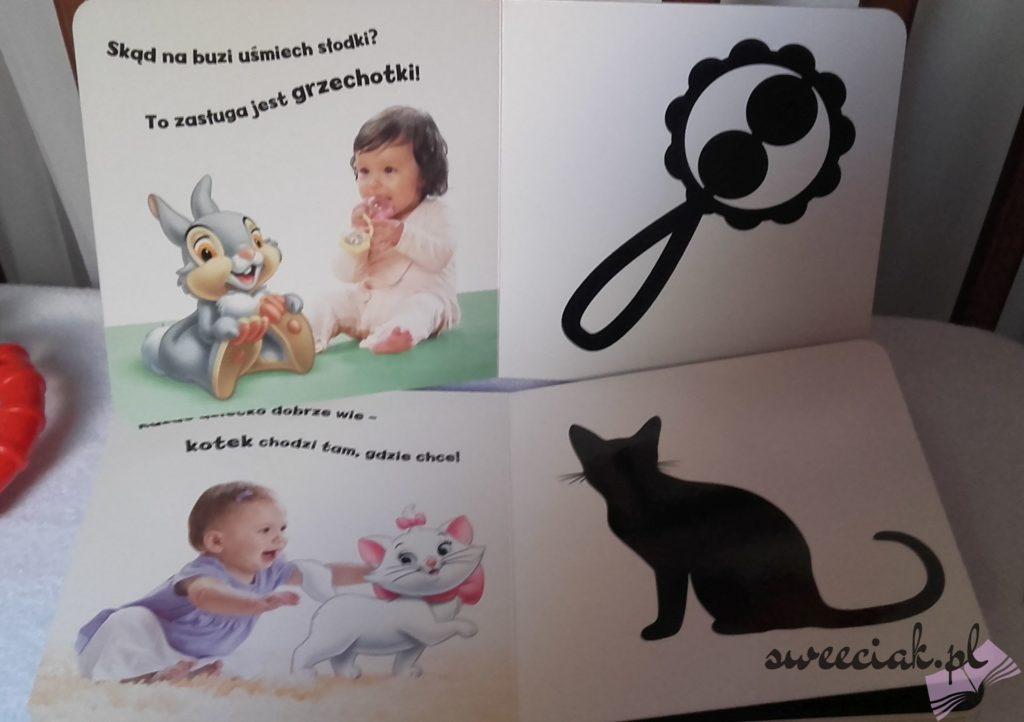 """""""Bobas 2m+"""" - książeczki kontrastowe od Ameet"""
