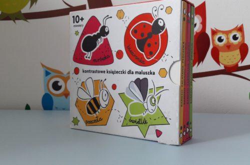 """""""Robaczki"""" - kontrastowe książeczki dla maluszka"""