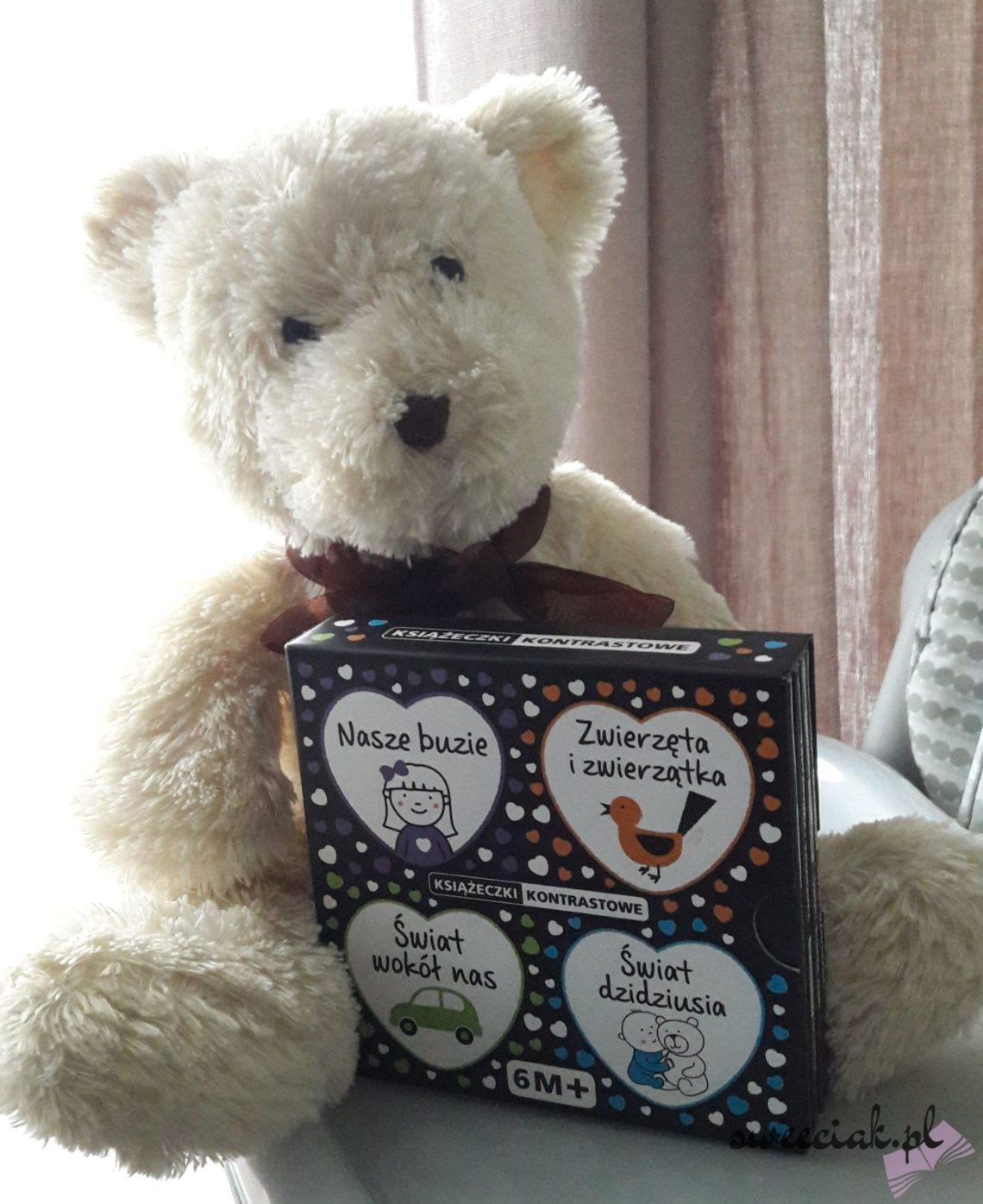 """""""Książeczki kontrastowe"""" - Biblioteka szczęśliwego dziecka"""