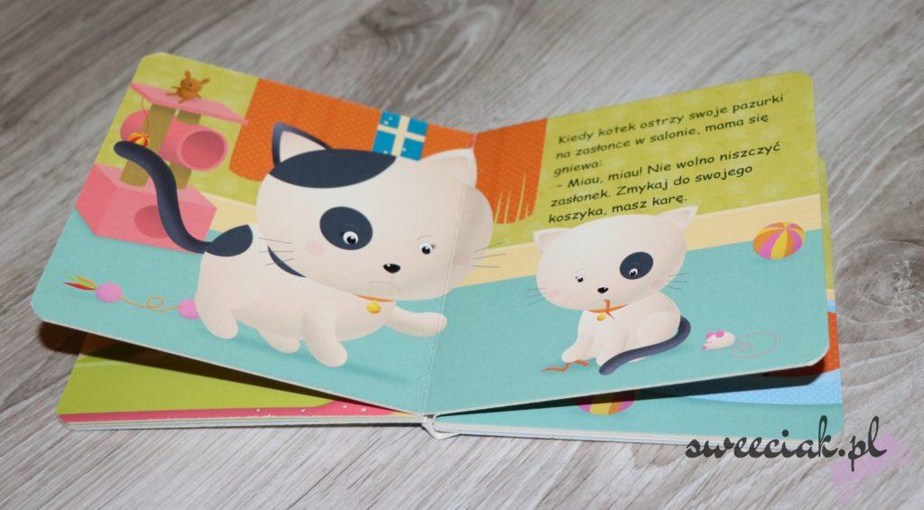"""Moje maleństwo kotek"" - Nathalie Belineau i Emilie Beaumont"