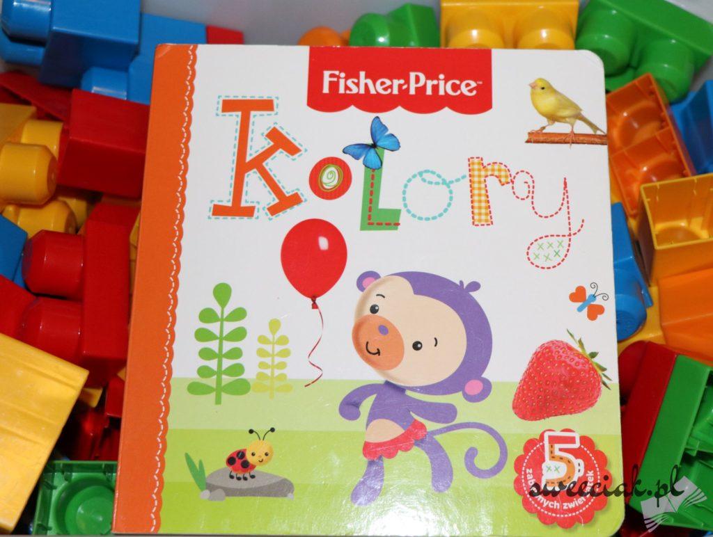 """Kolory"" - Anna Wiśniewska - seria Fisher - Price"