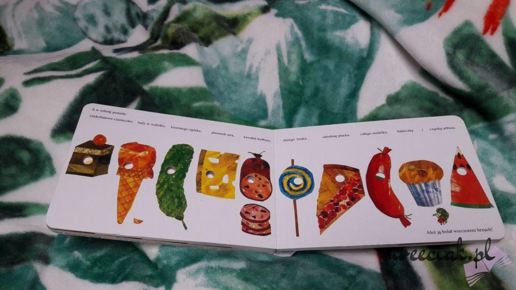 """Bardzo głodna gąsienica"" - Eric Carle"