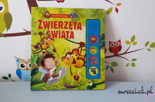 """""""Gucio poznaje zwierzęta świata"""" - Urszula Kozłowska"""