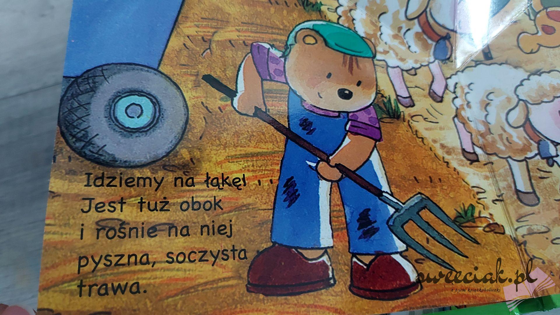 """""""Na wsi"""" - rozkładanka ze zwierzątkami od Wydawnictwa Olesiejuk"""