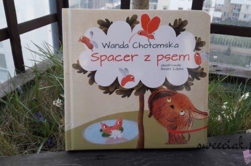 """Spacer z psem"" - Wanda Chotomska"