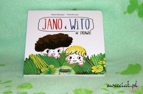 """""""Jano i Wito. W trawie"""" - Wiola Wołoszyn"""