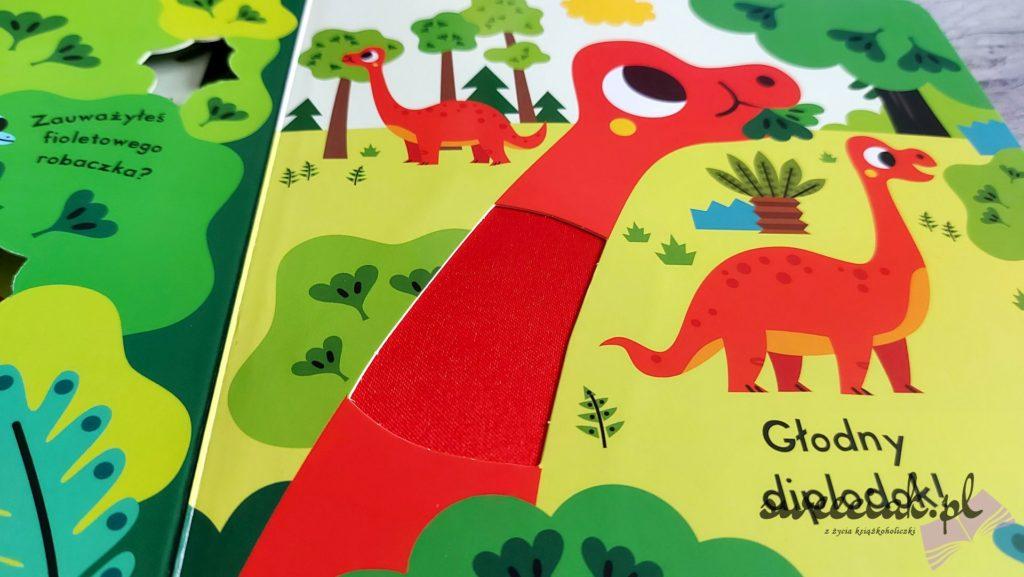 """""""Dinozaury"""" z serii """"Dotknij i znajdź"""""""