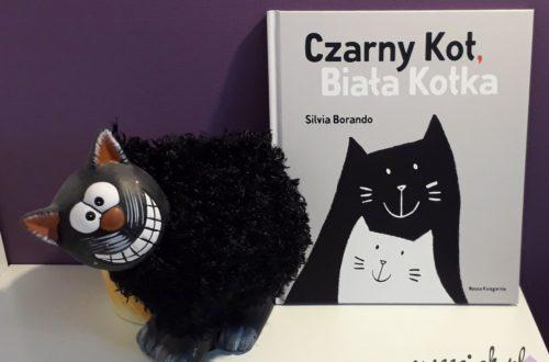 """""""Czarny kot, biała kotka"""" - Silvia Borando"""