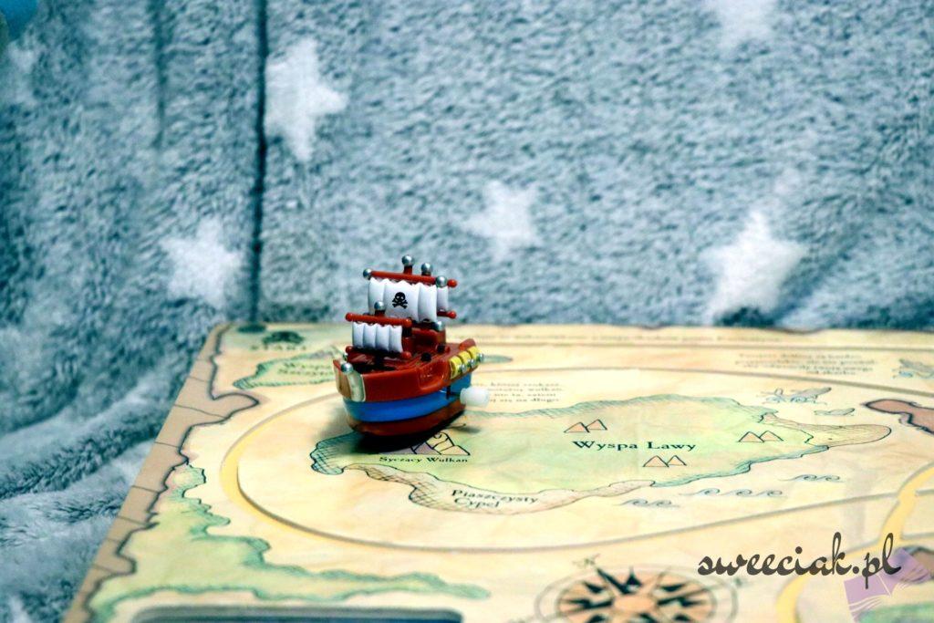 """""""Nakręcany statek piracki"""" - Louie Stowell"""