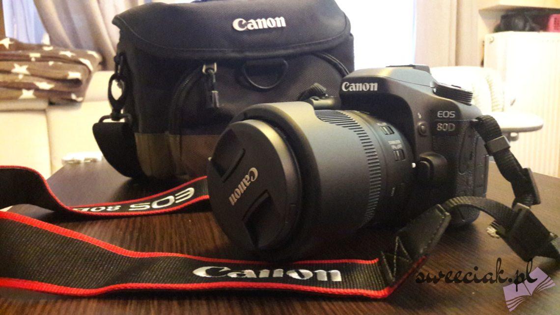 Canon EOS 80D z obiektywem 18-135IS USM Nano