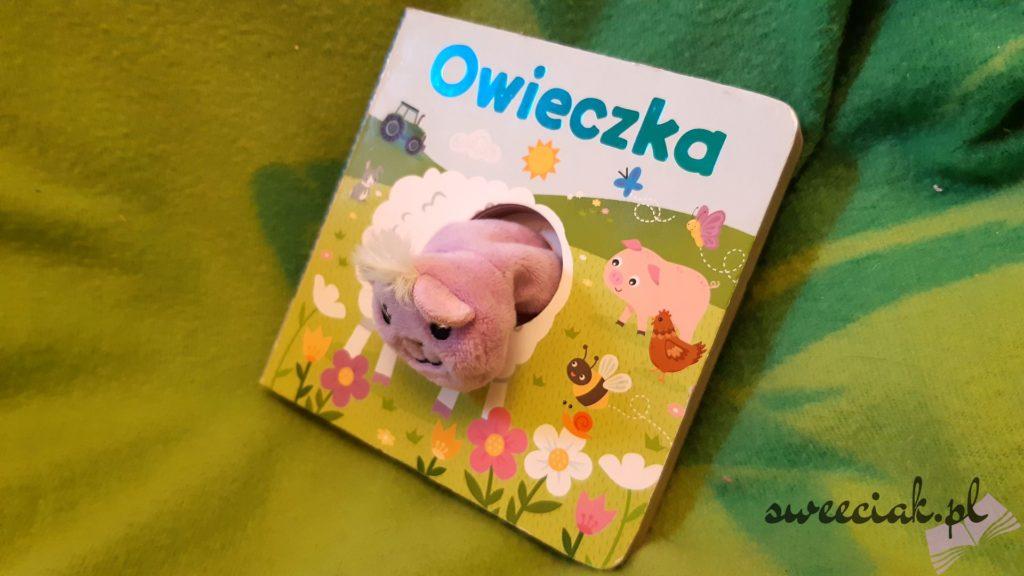 """""""Owieczka"""". Pacynka na paluszek - Urszula Kozłowska"""