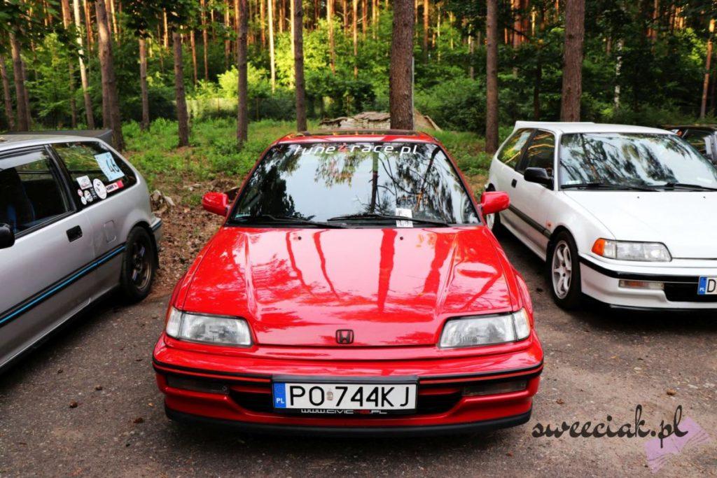 XIII Zlot Hondy Civic 4g - Stęszewko / Bednary 2018