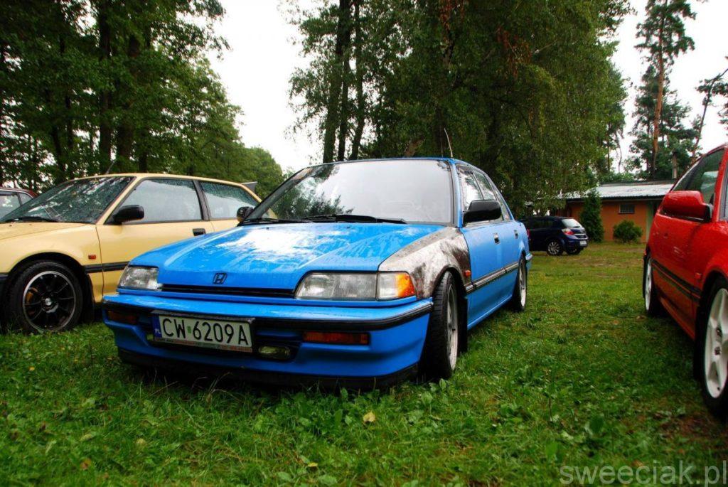 XII Zlot Hondy Civic 4g - Koszelówka 2017