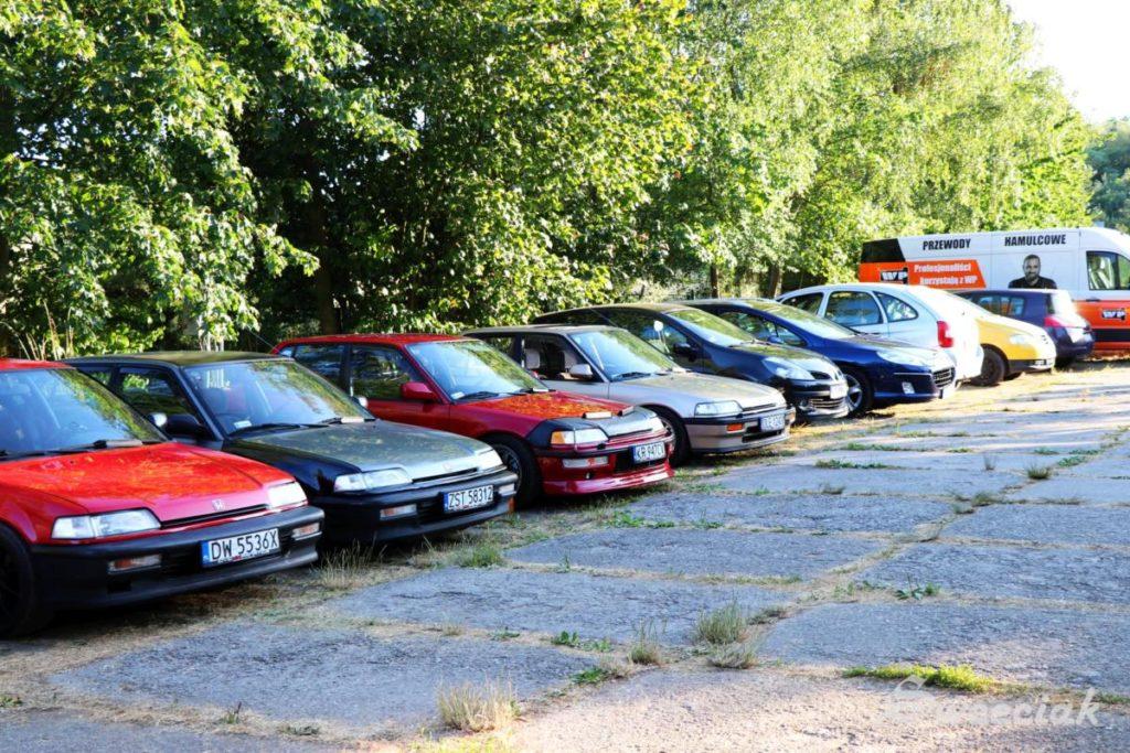 XIV Ogólnopolski Zlot Hondy Civic 4G - Rokitki