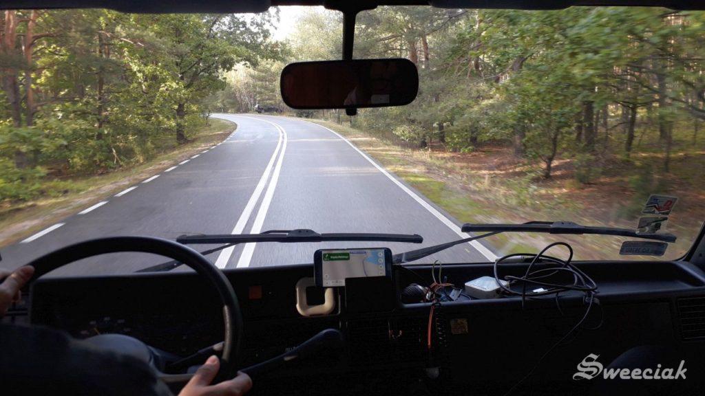 W drogę - podróż HymerCamp 46