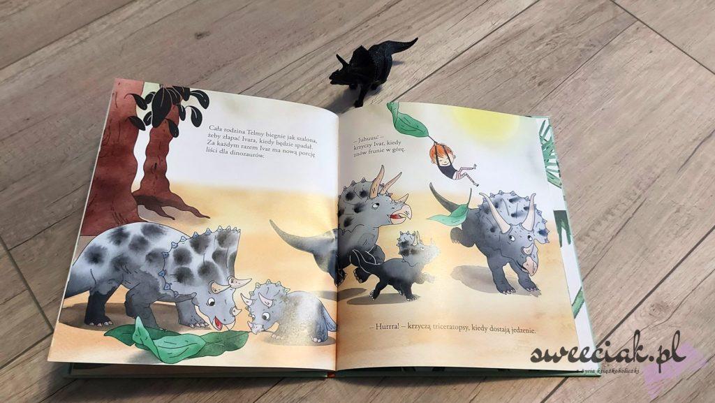 """Ivar ratuje głodne triceratopsy"" - Lisa Bjardo, Emma Gothner"
