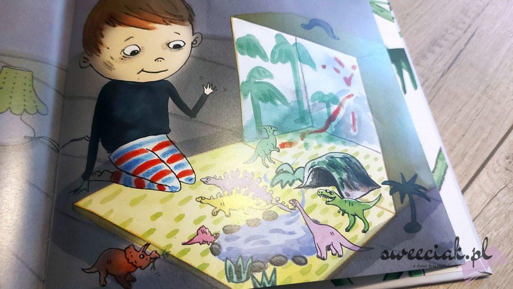 """Ivar ratuje małego stegozaura"" - Lisa Bjardo, Emma Gothner"