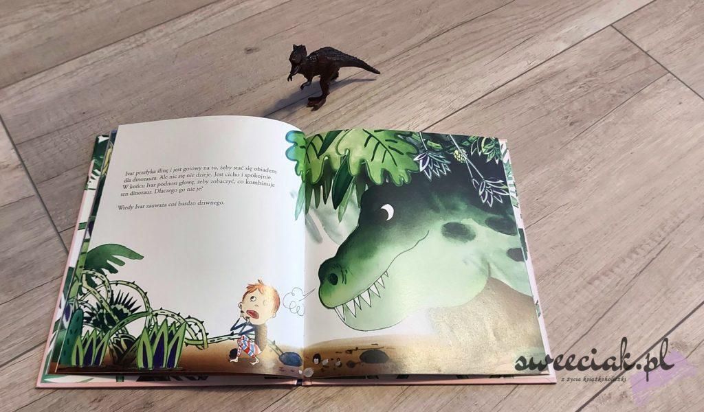 """""""Ivar zaprzyjaźnia się z tyranozaurem"""" - Lisa Bjardo, Emma Gothner"""