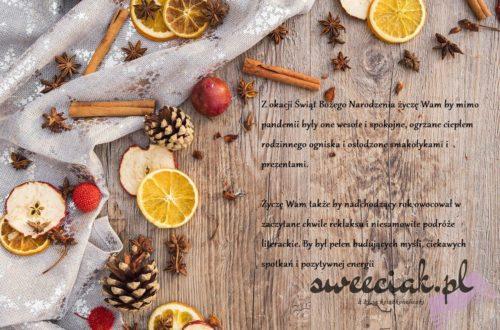 Zdrowych i spokojnych świąt Bożego Narodzenia