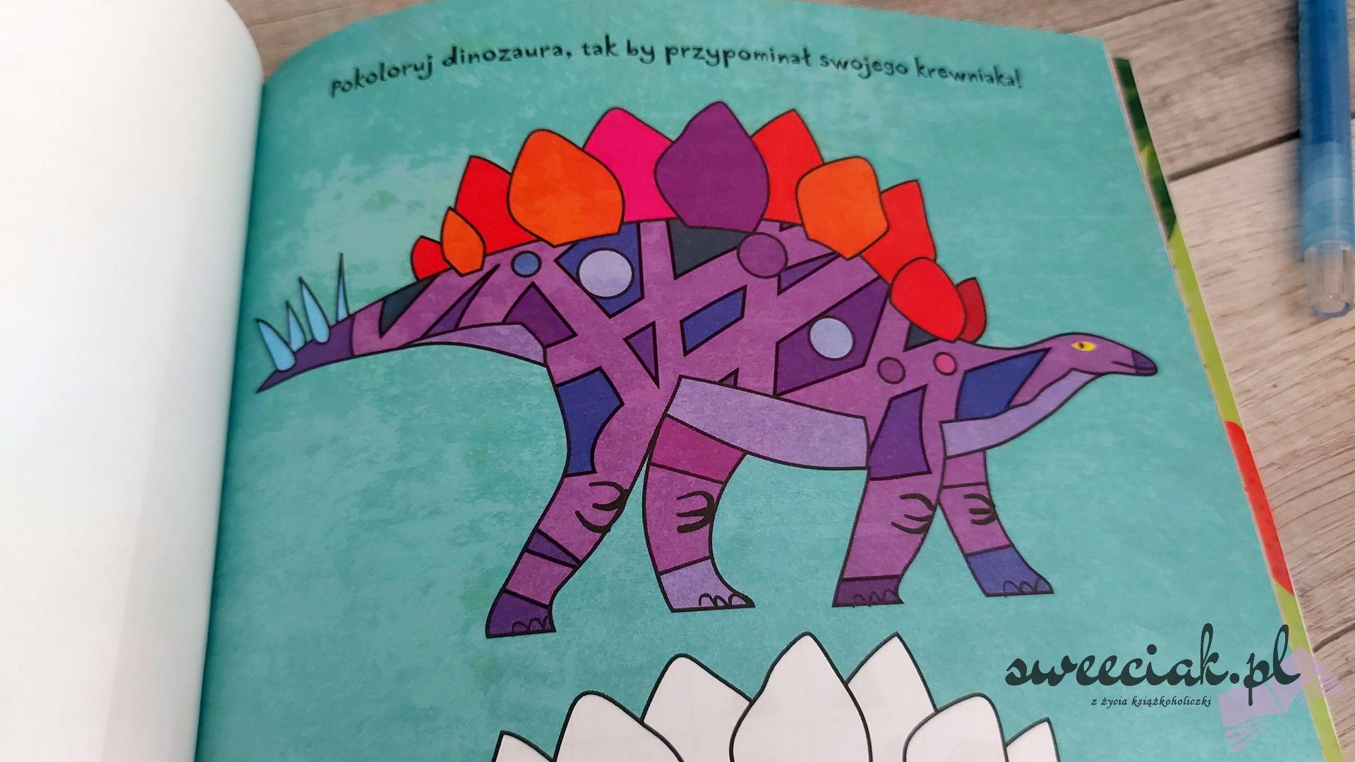 """""""Absolutnie fantastyczne dinozabawy"""" - Mandy Archer"""