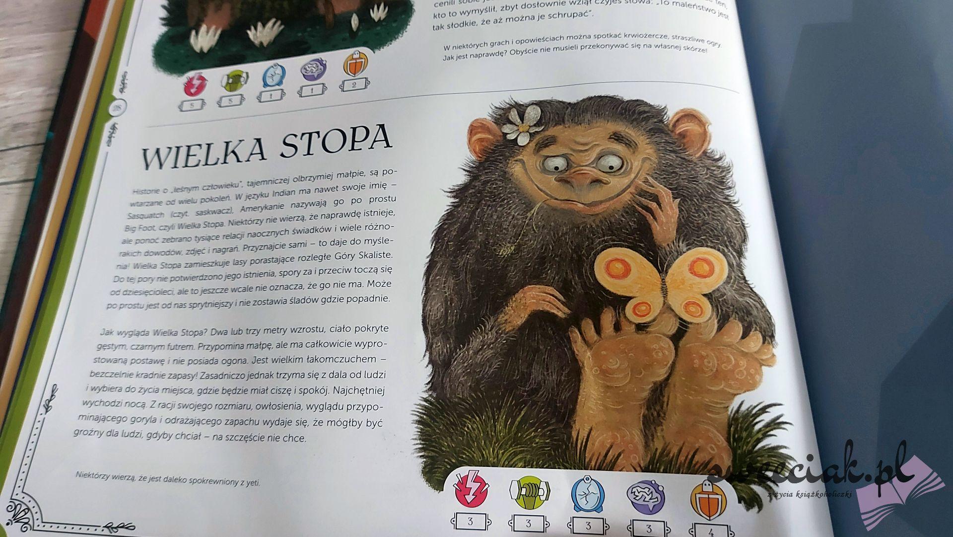 """""""Atlas stwory i potwory"""" - Agnieszka Antosiewicz"""