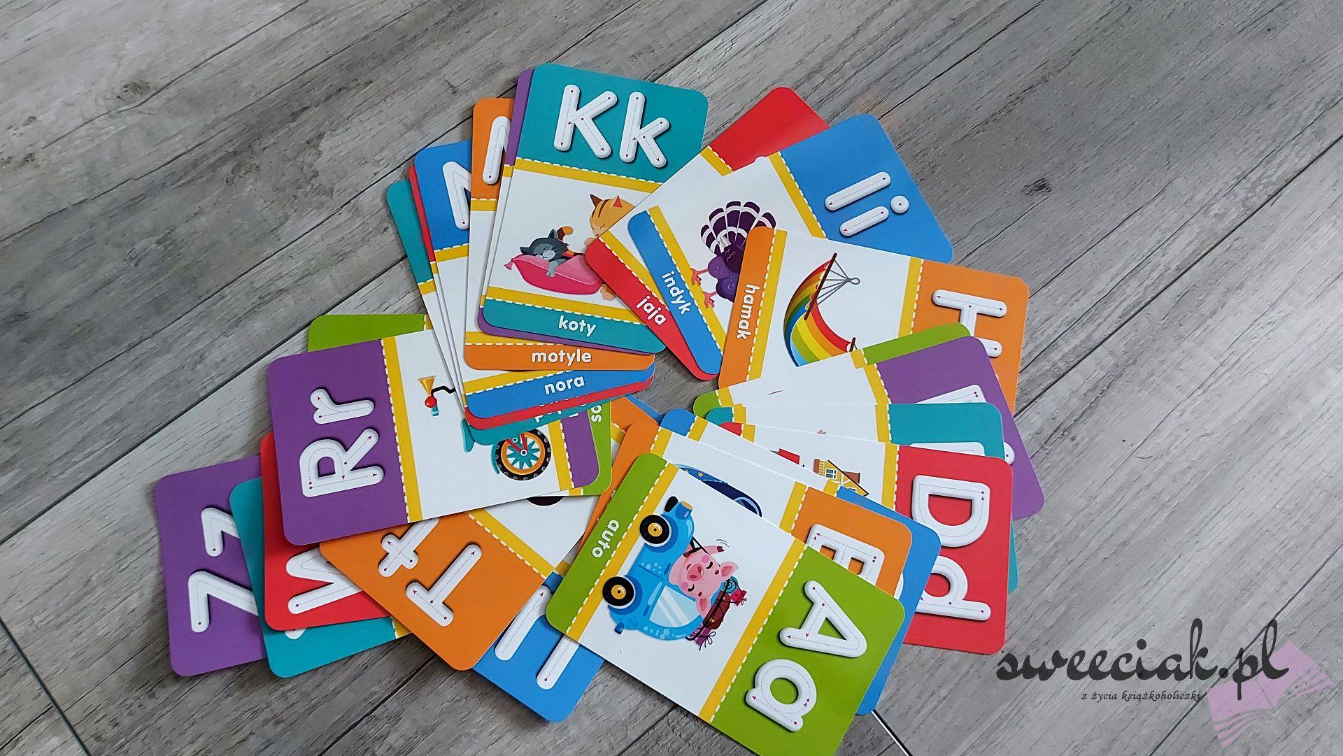 """""""Literki"""" i """"Cyferki"""" - Karty edukacyjne z pisakiem"""