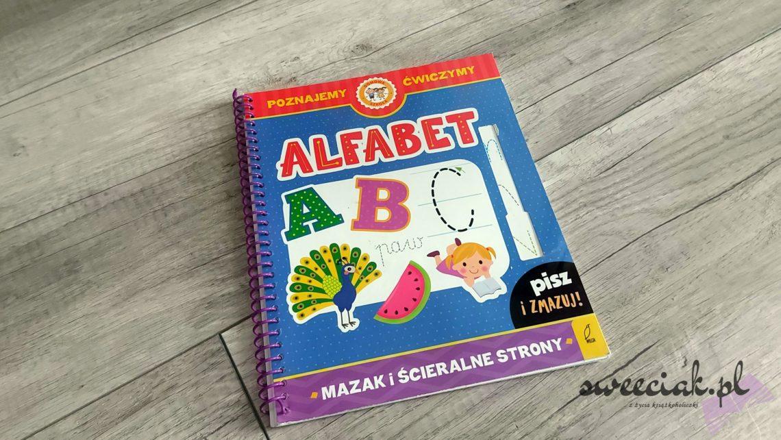 """""""Alfabet"""" z serii Domowa Szkoła od Wydawnictwa Wilga"""